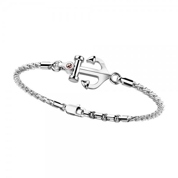 Zancan bracelet with silver...