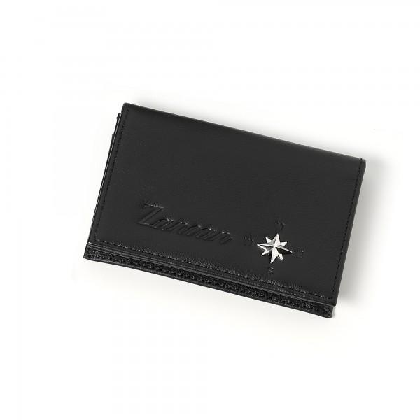 Zancan black leather...