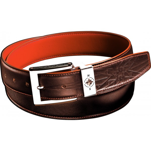 Zancan leather belt with...