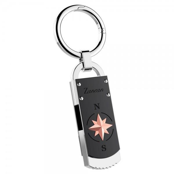 Zancan steel keychain with...