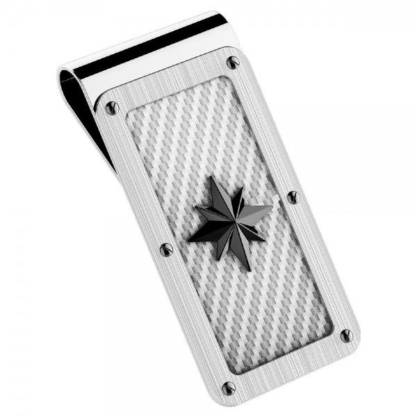 Zancan steel money clip...