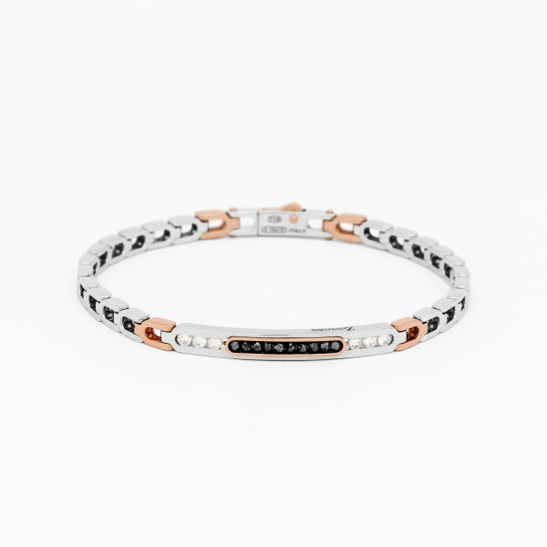 Gold men's bracelet