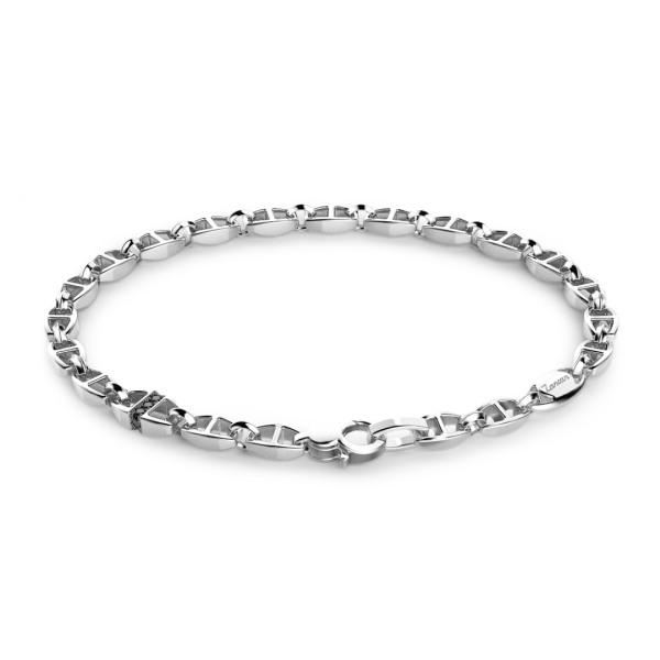 Bracciale solo maglia Zancan in argento