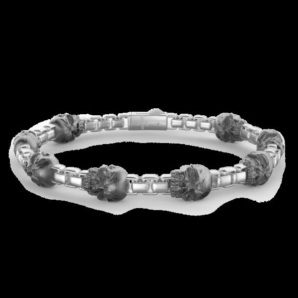 Zancan silver link bracelet...