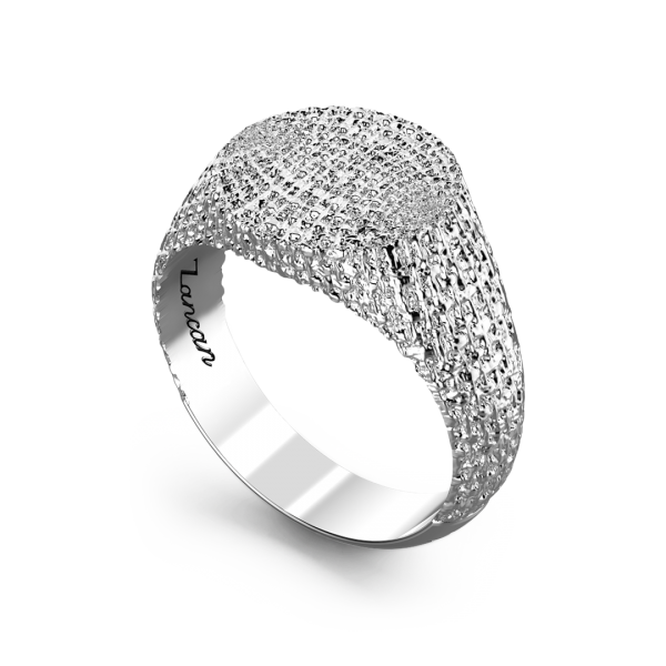 Zancan silver ring.