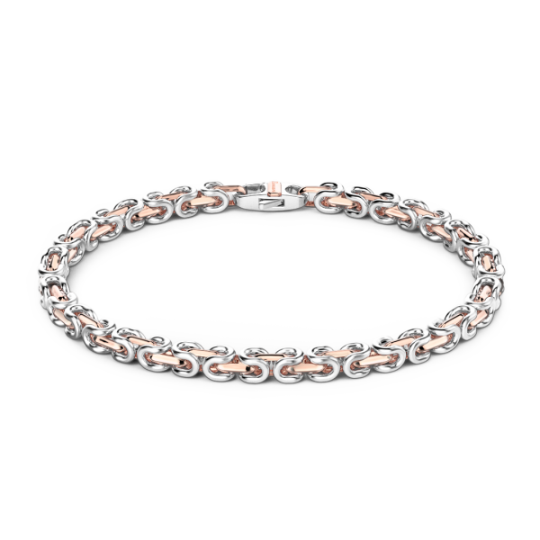Zancan silver and rose gold...