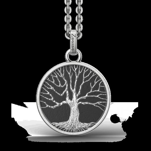 Collana Zancan in argento con pendente ad albero della vita.