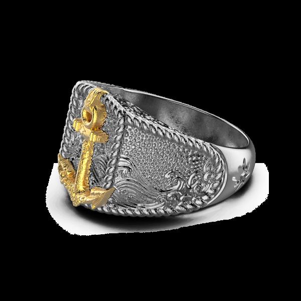 Zancan burnished silver...