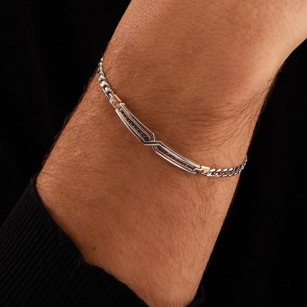Zancan white gold bracelet...