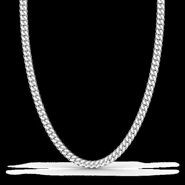 Collana a grumette Zanca in argento.
