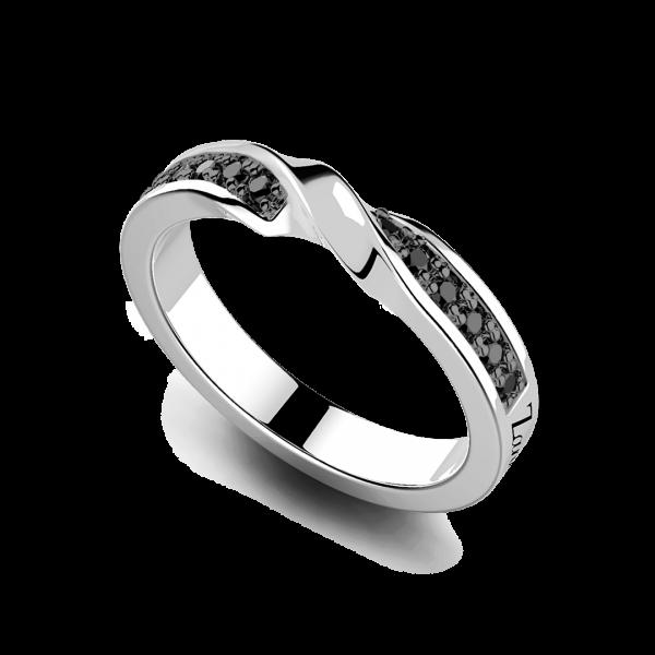 Zancan silver band ring...