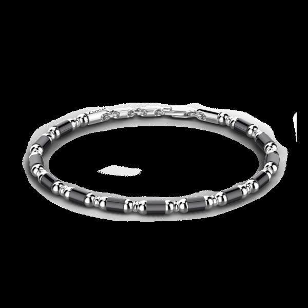 Zancan soft silver beads...
