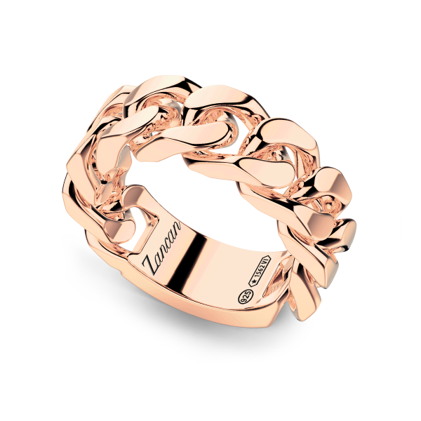 Men's silver ring with...