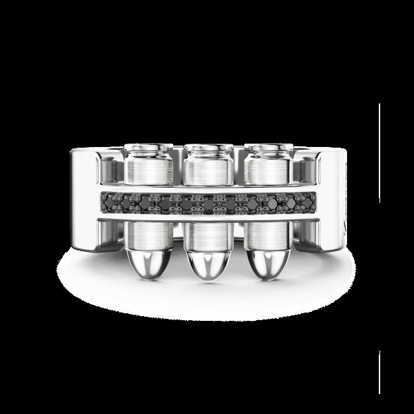 Zancan silver bullet ring...