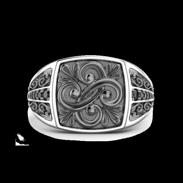 Zancan silver and black...