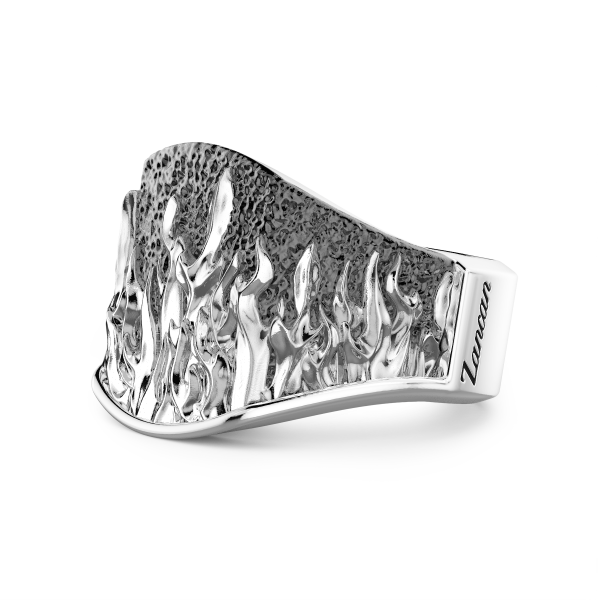 Zancan silver ring with...