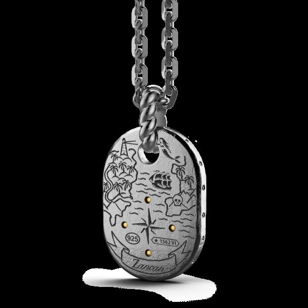 Collana Zancan in argento...