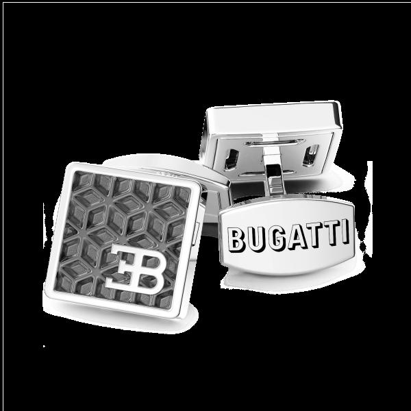 Gemelli Bugatti in argento.
