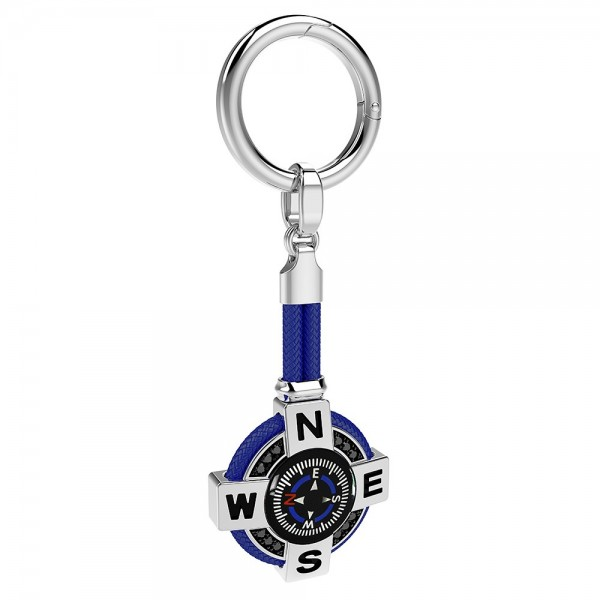 Zancan silver keychain with...